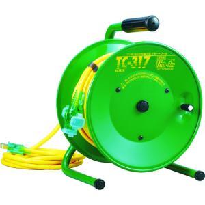 ハタヤ 逆配電型コードリール シンディテモートリール 単相100V 17+3m TC-317 kg-maido