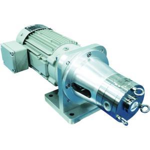 (運賃見積り)(直送品)伏虎 ベーンポンプモーター付き VBB10M4A|kg-maido