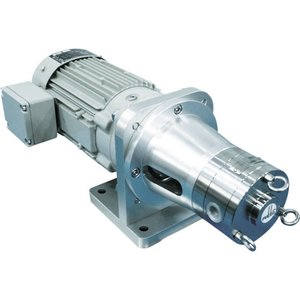(運賃見積り)(直送品)伏虎 ベーンポンプモーター付き VBB15M4A|kg-maido