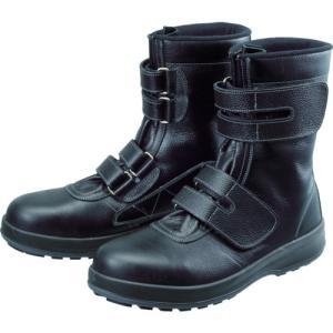 シモン 安全靴 長編上靴 マジック WS38黒 26.0cm WS38-26.0