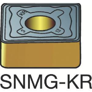サンドビック T-Max P 旋削用ネガ チップ 3205 SNMG 12 待望 08-KR:3205 04 10個 40%OFFの激安セール