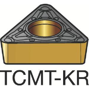サンドビック コロターン107 定番の人気シリーズPOINT(ポイント)入荷 旋削用ポジ チップ 3210 10個 TCMT T3 直送商品 12-KR:3210 16