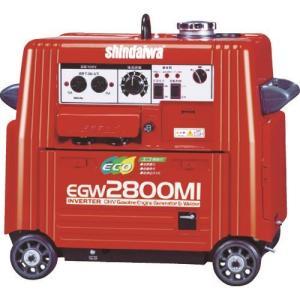 (運賃見積り)(直送品)新ダイワ エンジン溶接機・兼発電機 135A EGW2800MI kg-maido