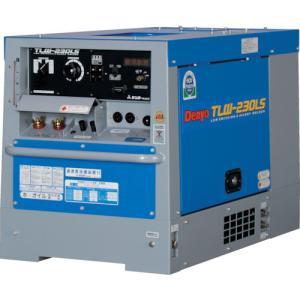 (直送品)デンヨー 防音型ディーゼルエンジン溶接機 TLW-230LS kg-maido