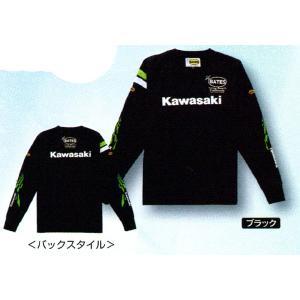 Kawasaki カワサキクールテックスロングTシャツ14 ブラック J8901-0683|kgsriverside