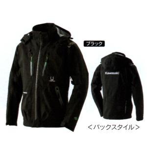 Kawasaki カワサキ3レイヤーベンチレートジャケット ブラック J8001267x|kgsriverside