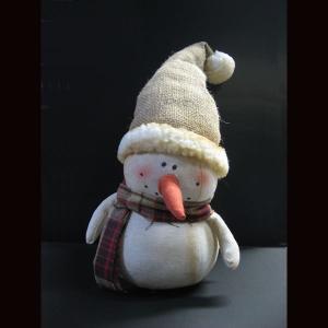 クリスマス スノーマン チェックマフラー kh-company7