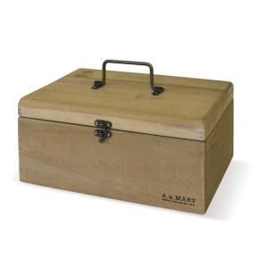 アンティーク調◆木製 エニーボックス◆文具 薬箱 小物入れ◆ナチュラル雑貨 kh-company7