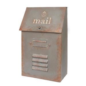 アンティーク調 スチール製 メールボックス |kh-company7