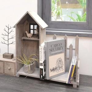 アンティーク調◆木製ハウス&フェンス◆ナチュラル雑貨 インテリア雑貨|kh-company7