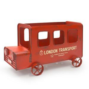 アンティーク調◆ロンドンバスプランター◆ ガーデニング雑貨|kh-company7