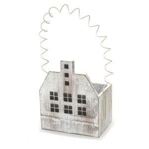 アンティーク調◆ハウスプランター ホワイトL◆ナチュラル雑貨 ガーデニング雑貨|kh-company7