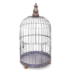 アンティーク調◆鳥かごS ラウンド◆ナチュラル雑貨 インテリア雑貨 ガーデニング雑貨|kh-company7