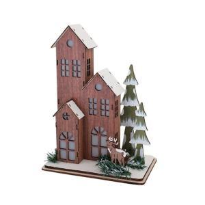 クリスマス◆ノルディックウッド LEDライト  バスウッドハウス|kh-company7