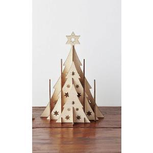 クリスマス ウッドナチュラルツリー|kh-company7