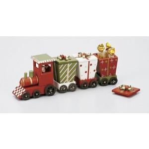 クリスマス 木製トレインBOX|kh-company7