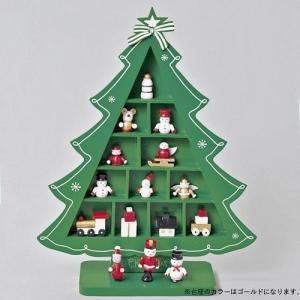 クリスマス オーナメント◆木製ウィンドウツリー|kh-company7