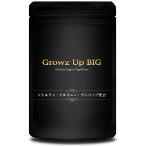 「あなたの理想のサイズは?」・・・  Growz Up BIG シトルリン アルギニン ランペップ ...