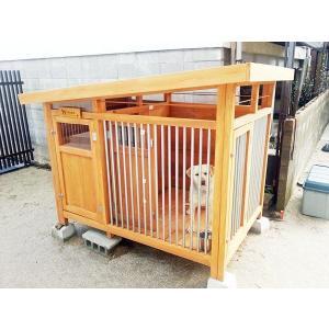 ● 犬小屋 規格サイズ外寸1300x2000 高さ1400〜1600 <br>  ● 柵...