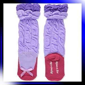 パープル フェイクバレーシューズ靴下 日本製 パープル 9-13cm B