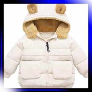 ベージュ/130 Eveliyning ベビー服 コート ジャンパー 冬 男の子