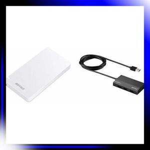 BUFFALO USB3.2Gen2 外付SSD 960GB 名刺サイズ 日本製 PS4 メー