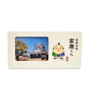 家康くんフォトフレーム 日本製 ご当地キャラ 開運 お土産 浜松 プレゼントやギフトにも クリスマスプレゼントに|kiarl