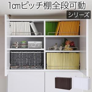本体上の空間を有効活用する為の、専用上置き。本体同様に、1cm間隔で棚板が設置可能なので、様々なもの...