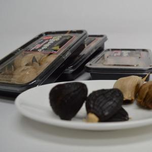 熟成黒にんにく 80グラム 国産にんにく(福地ホワイト六片種)使用 黒ニンニク フルーツガーリック ...