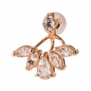 10金ブルームトパーズイヤージャケット 片耳分 エレノアジュエリー Elenore Jewelry