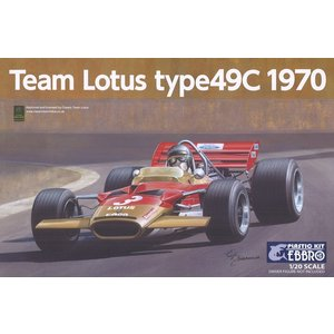 ☆ エブロ プラモデル 1/20 チーム ロータス タイプ49C 1970 F1|kidbox