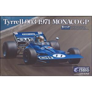 ☆ エブロ 1/20 ティレル 003 1971 F1 モナコGP 【プラモデル】|kidbox
