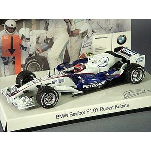 ☆ BMW特注 ミニチャンプス製 1/43 BMW サウバー F1.07 2007 F1 本選仕様 #10 R.クビサ kidbox