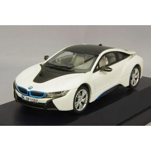 ☆ BMW特注 JADI製 1/43 BMW i8 クリスタルホワイト kidbox