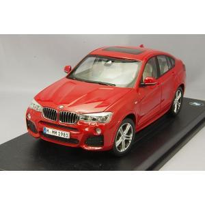 ☆ BMW特注 JADI製 1/18 BMW X4 F26 メタリックメルボルンレッド kidbox
