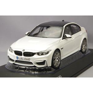 ☆ BMW特注 1/18 BMW M3 (F80) ミネラルホワイトメタリック kidbox