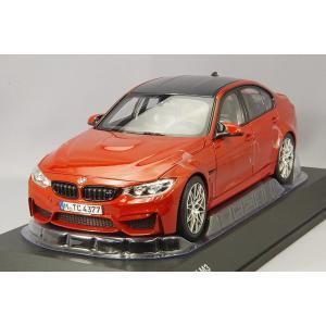 ☆ BMW特注 1/18 BMW M3 (F80) サキールオレンジメタリック kidbox