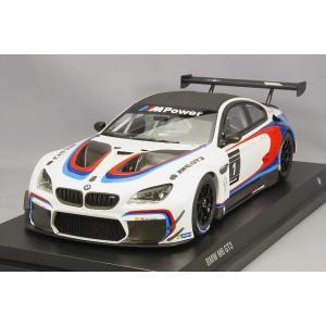 ・☆ BMW特注 京商製 1/18 BMW M6 GT3 #1 BMWワークスカラー kidbox
