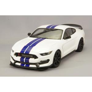 ☆ オートアート コンポジット 1/18 フォード シェルビー GT350R ホワイト/ブルーストライプ|kidbox