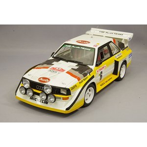 ☆ オートアート コンポジット 1/18 アウディ スポーツクワトロ S1 WRC 1986 モンテカルロ ラリー 3位 #6 H.ミッコラ/A.ヘルツ|kidbox