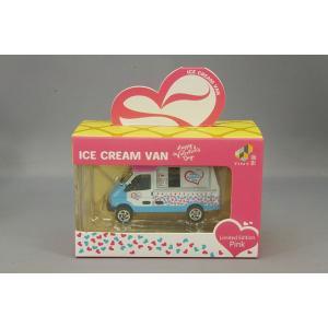 TINY 小スケール アイスクリーム バン バレンタインデーカラー/ピンクルーフ ケース付|kidbox