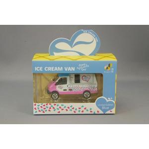 TINY 小スケール アイスクリーム バン バレンタインデーカラー/ブルールーフ ケース付|kidbox