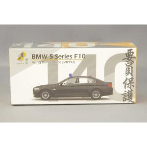 Tiny City No.140 BMW 5シリーズ F10 ポリスカー (VIPPU) ブラック TG9376|kidbox