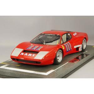 【決算セール〜9/30】☆ BBR 1/18 フェラーリ 365 GT4/BB 1975 セブリング12H #111 M.ミンター/E.ウィーツェス ケース付|kidbox