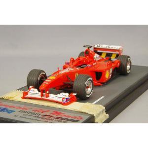 【決算セール〜9/30】☆ BBR 1/43 フェラーリ F1-2000 2000 F1 マレーシアGP 3位 #4 M.バリチェロ|kidbox