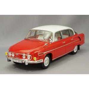 ・☆ BoS Models 1/18 タトラ 603 1969 レッド/ホワイト kidbox