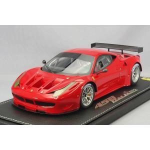 【決算セール〜9/30】☆ BBR 1/18 フェラーリ 458 イタリア GT2 レースレッド322 (レッド)|kidbox
