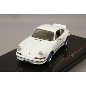 イクソ 1/43 ポルシェ 911 カレラ RS 2.7 1973 ホワイト/ブルー|kidbox