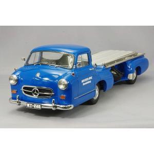 ☆ CMC 1/18 メルセデスベンツ レーシング トランスポーター 1955 ブルー ディテールUP Ver.|kidbox