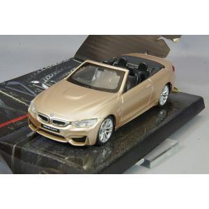 ☆ CMC  1/43 プルバックカー BMW M4 カブリオ サテンゴールド|kidbox